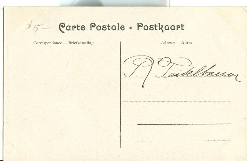 Belgium, Anvers, L'Hotel Metropole CPA early 1900s used Postcard
