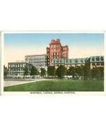 Canada, Montreal, General Hospital, early 1900s unused Postcard  - $5.99