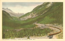 Canada, The Spiral Tunnels, Yoho National Park, B.C. early 1900s unused Postcard - $3.99