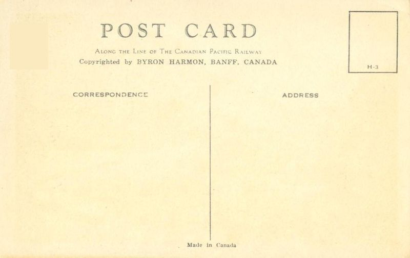 Canada, The Spiral Tunnels, Yoho National Park, B.C. early 1900s unused Postcard