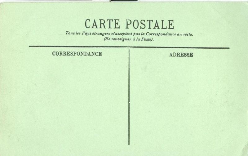 France, Boulogne Sur Mer, La Jardin du Casino CPA early 1900s unused Postcard
