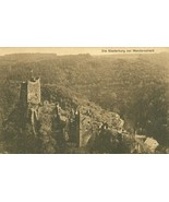 Germany Die Niederburg bei Manderscheid old unused Postcard - $5.99
