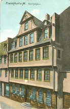 Germany, Frankfurt a.M. Goethehaus early 1900s unused Postcard  - $4.99