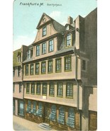 Germany, Frankfurt a.M. Goethehaus early 1900s unused Postcard  - $4.99