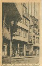Germany, Frankfurt  a. M. Hinter dem Lamchen, kum mohrenkopf used Postcard  - $4.99
