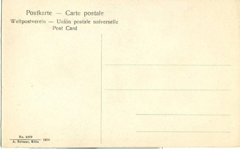 Germany Koln a Rhein, Dom Sudseite 1906 unused Postcard