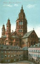 Germany, Mainz, Dom von Leichhof 1916 used Postcard  - $4.99