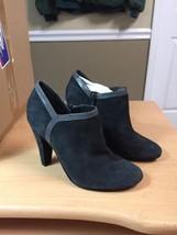 Nine West Gray Leather Suede Pumps Bootie Size 6 Medium Never Worn - $18.49