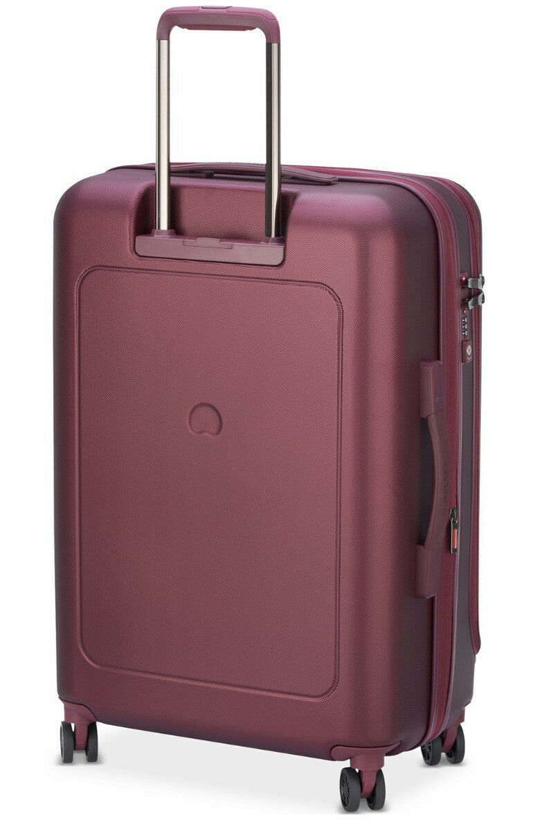 "Delsey Helium Shadow 4.0 25"" Hardside Spinner Suitcase - Black Cherry"