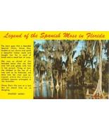 Legend of the Spanish Moss, Florida unused Postcard  - $3.99