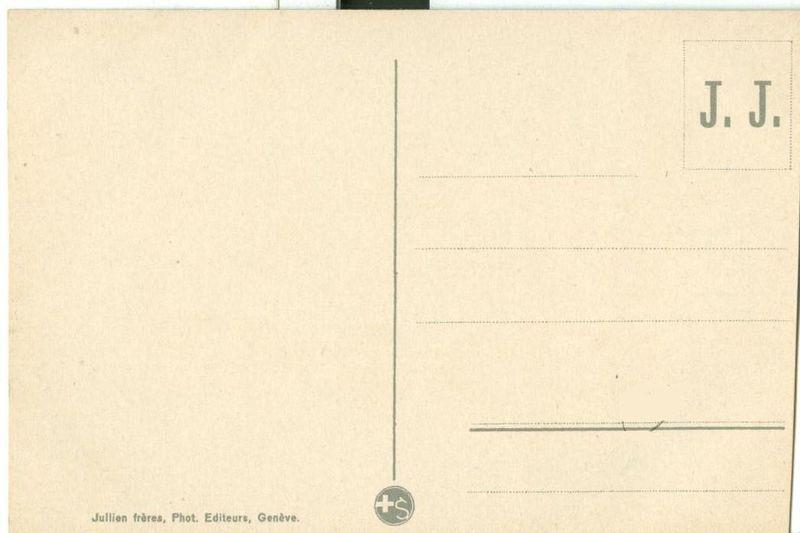 Switzerland, Geneve, Geneva Due Prise de St. Jean, early 1900s unused postcard