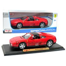 Maisto Special Edition Series 1:18 Scale Die Cast Car Red Sports FERRARI 348ts - $49.99