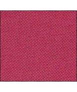 32ct Deep Magenta Lugana 36x27 1/2yd cross stitch fabric Zweigart - $24.30
