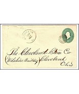 1888 Brooklyn OH Discontinued/Defunct (DPO) Post Office Postal Cover - €9,21 EUR