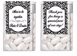 Wedding Engagement ANY COLOR Mint to Be Mints Party Favors Labels - $3.96+