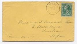c1875 Hamilton Square NJ Discontinued/Defunct (... - $9.95
