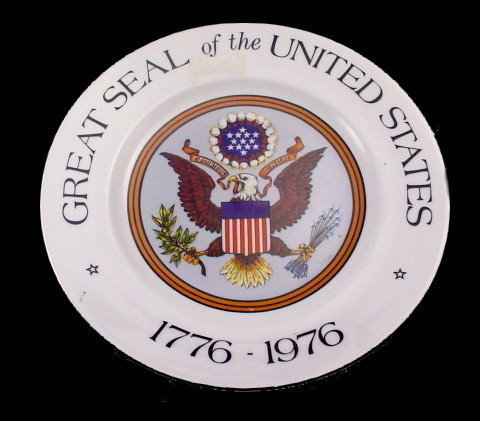 Primary image for Great Seal of the United States 1976 - 1976 Plate