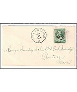 c1885 Williamsfield OH Vintage Post Office Postal Cover - $9.95