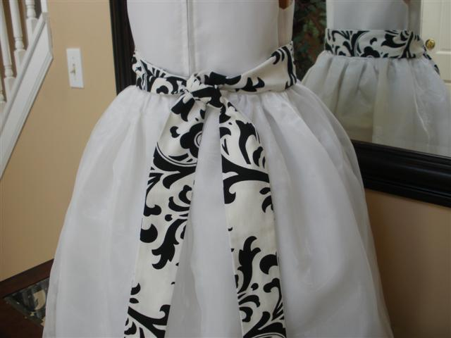 White dress back traditions sash1  small