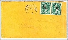 c1870 Mount Gilead OH Vintage Post Office Postal Cover - $9.95