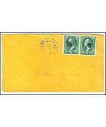 c1870 Mount Gilead OH Vintage Post Office Postal Cover - €8,69 EUR