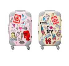 Peripera Mini Fashion People Carrier K-Pop Girl Luggage Set Lip Tint KBe... - $43.75