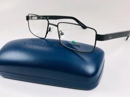 New LACOSTE L2238 002 Matte Black Eyeglasses 54mm with Case - $84.10