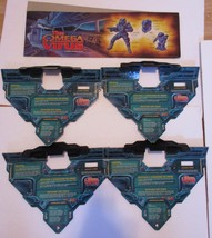 Omega Virus board game replacement parts all 4 open sector panels - $25.00