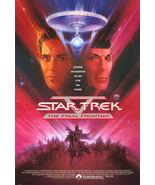1989 STAR TREK V: FINAL FRONTIER Movie POSTER 27x40 Original Vintage 1-S... - $25.99