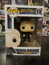 Funko Pop! Harry Potter Draco Malfoy #13 Vaulted Retired Figure WITH PROTECTOR! - $34.24