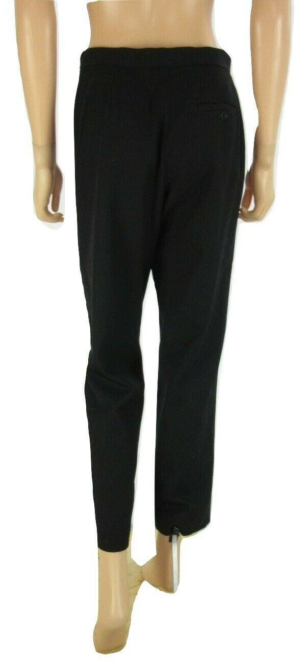RALPH LAUREN Black Wool Blend Wear to Work Dress Pants 6 Petite image 3