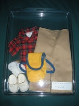 Vintage Fisher Price My Friend #222 Let's Go Camping Outfit COMP/NR MINT... - $24.99