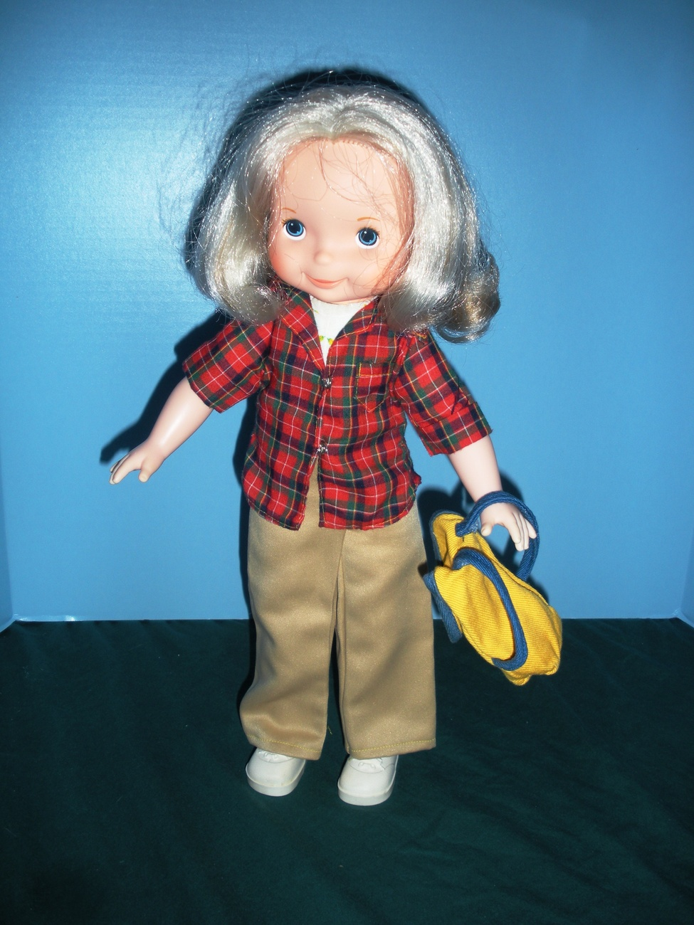 Vintage Fisher Price My Friend #222 Let's Go Camping Outfit COMP/NR MINT + SHOES
