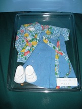 Vtg. Fisher Price My Friend #223 Jumper and Blouse Outfit COMP/NR MINT + SHOES - $22.99