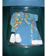 Vtg. Fisher Price My Friend #223 Jumper and Blouse Outfit COMP/NR MINT +... - $22.99