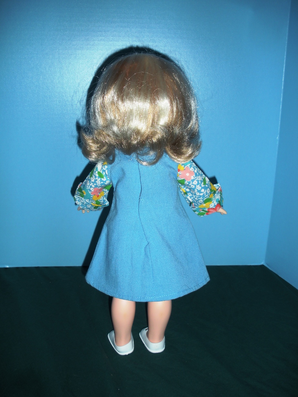 Vtg. Fisher Price My Friend #223 Jumper and Blouse Outfit COMP/NR MINT + SHOES