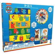 3-in-1 Paw Patrol Wood Activity Center - $38.32