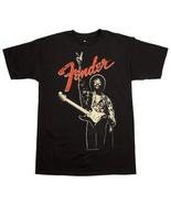 """Genuine Fender Guitars Jimi Hendrix """"PEACE"""" T-Shirt XXL 100% Cotton #910... - $17.99"""