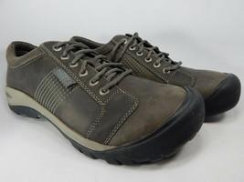 Keen Austin Sz US 12 M (D) EU 46 Men's Lace-Up Oxford Casual Shoes Gray 1016828
