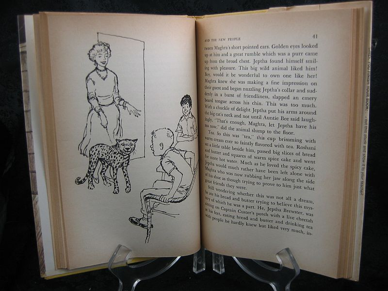 Jeptha and the New People by Marguerite Vance 1960 HC/DJ