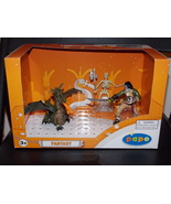 Papo Fantasy Figure Set New In The Box Dragon Skeleton & Zombie Pirate - $44.99