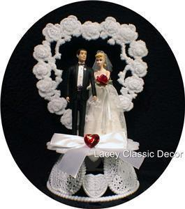 barbie wedding cake topper 1950 style blond hair ken wedding cake topper 5 11071