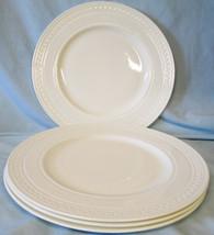 Wedgwood Intaglio White Dinner Plate, Set of 4 - $69.19