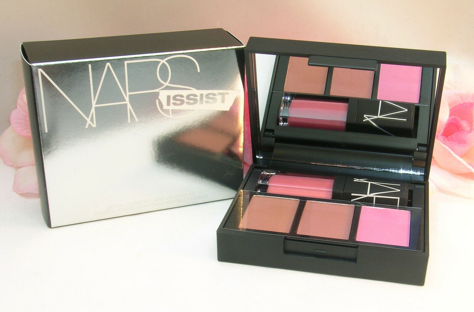 Primary image for New NARS Narsissist # 8307 Blush Contour and Lip Palette Bronzer & Lip Gloss