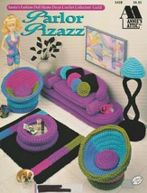 "Annie's Attic Leaflet ""Parlor Pizazz"" Fashion Doll -Crochet Pattern- Gently Used - $7.50"