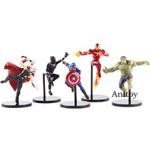 PUTITTO Series Marvel Super Heroes Iron Man Hulk Captain America Thor Bl... - $20.30