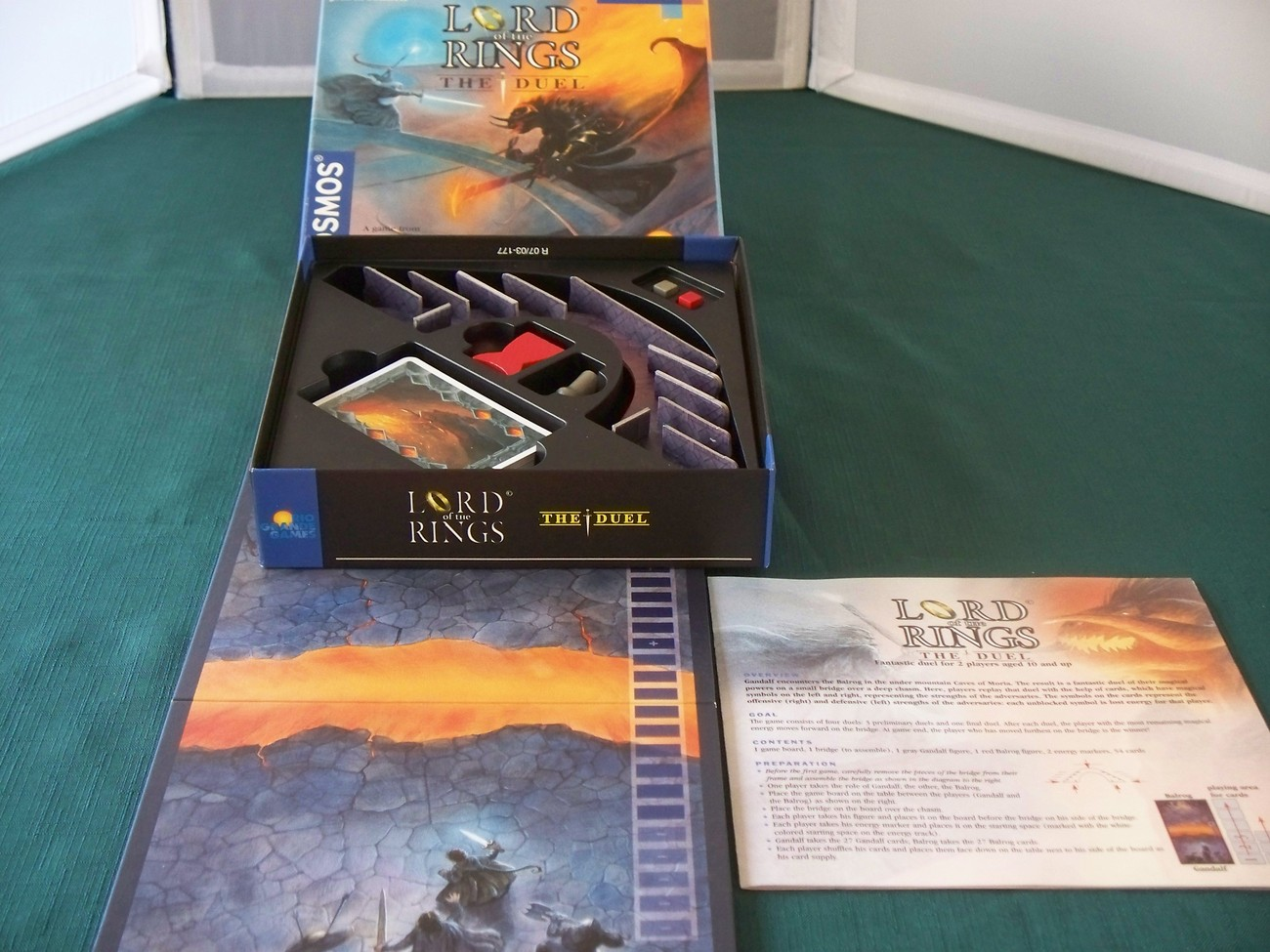 Lord Of The Rings The Duel Rio Grande Games Complete VGC