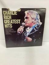 Charlie Rich Greatest Hits  Vinyl LP Record  1976, - $18.70