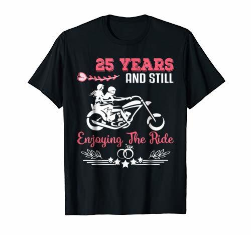 25th Wedding Anniversary Gift Ideas For Him: 25th Wedding Anniversary Gifts For Her/Him. Couple Shirts