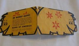Dime Savings Card Bank Of America Vintage Piggy Bank Unused 1959 - $14.84